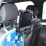 Ultimate Addons Car Headrest Tablet DVD Mount Holder for LG DP271 Portable DVD Player