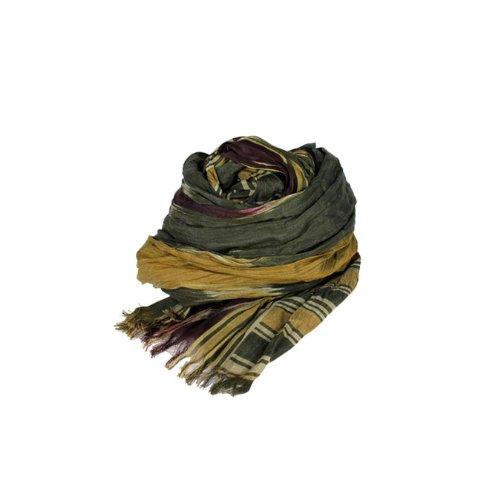 (ポロ ラルフローレン)POLO by RALPH LAUREN スカーフ [オリーブ] 604533 Silk Cotton Ikat Fringe Scarf コットン 男女兼用 オリーブ