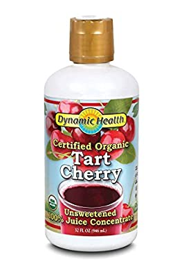 Dynamic Health 10184 Organic Tart Cherry Juice Concentrate, 32 Ounce from Dynamic Health