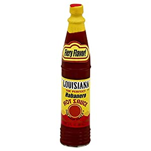 Amazon.com : Louisiana Brand Habanero Hot Sauce 3.0 OZ ...