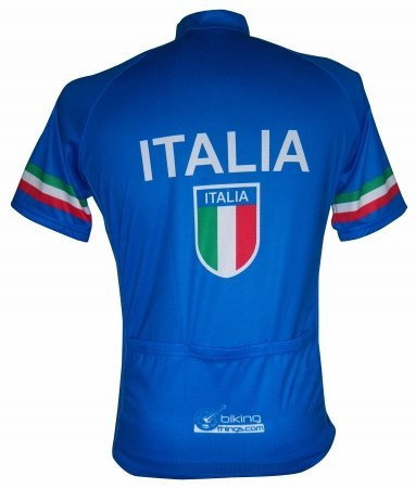Bikingthings italiajerL Italia Bike Jersey- Italy Cycling Shirt