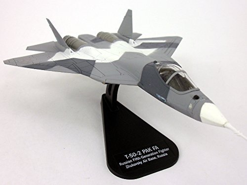 PAK FA T-50 1/100 Scale Die-cast Model Airplane by Italeri [並行輸入品]