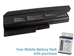 IBM Thinkpad Z60M 2532 Battery 87Wh, 7800mAh with free Mobile Battery Pack