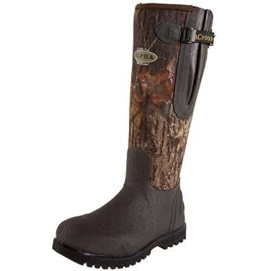 """LaCrosse Men's 18"""" Alpha Lite Side Zip Hunting Boot,Mossy Oak Break Up,8 M US"""