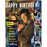 Doctor Who Matt Smith and Amy Pond MULTI ACTIVITY BIRTHDAY CARD (Mini Comic Book Puzzles Stickers inside)