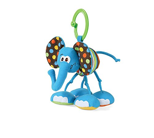 Jittery Pal Elephant Rattle