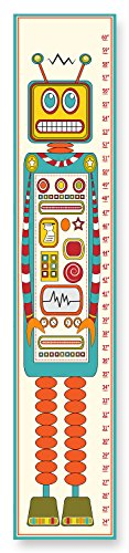 The Kids Room by Stupell Robot Growth Chart