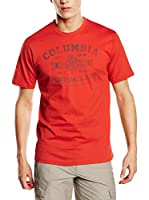 Columbia Camiseta Manga Corta Rough N' Rocky (Tomate)