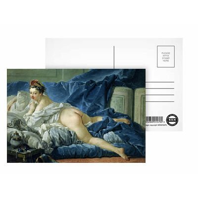 the-odalisque-1745-oil-on-canvas-by-postkarten-8er-packung-152x102-cm-beste-qualitat-standardgraaye