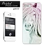 Abstract Sketch Horse Fits iPhone 5 Cover Case MISCi5239 White
