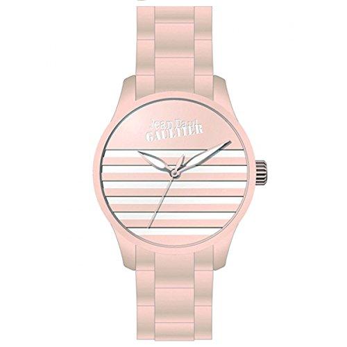 Jean Paul Gaultier Hombre Reloj de pulsera analógico cuarzo silicona 8501104