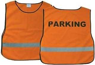 Safety Vest Orange X-Large Parking by Safety Vest Parking Neon Orange XL