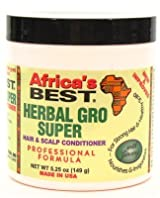 Africa's Best Herbal Gro Super 5.25 oz. (Pack of 2)
