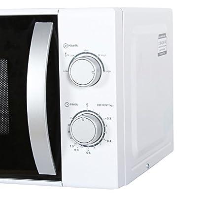 Kenstar KM20SWWN 17-Litre Solo Microwave Oven (White)