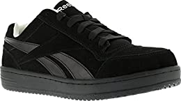 Reebok Work Men s Soyay RB1910 Skate Style EH Safety Shoe Black 14 2E US