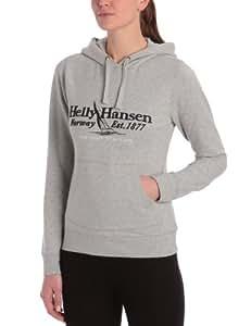 Helly Hansen W Graphic Hoodie Sweat avec capuche femme Grey Melang S