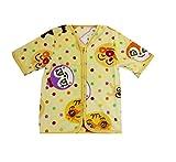 アンパンマン 半袖 スリーパー(ベビー用かいまき 35×50cm)1612500BE キャラクター おくるみ 着る毛布 パジャマ