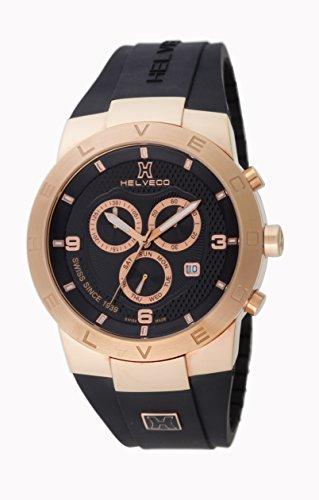 Helveco H01452NNC - Reloj , correa de goma color negro