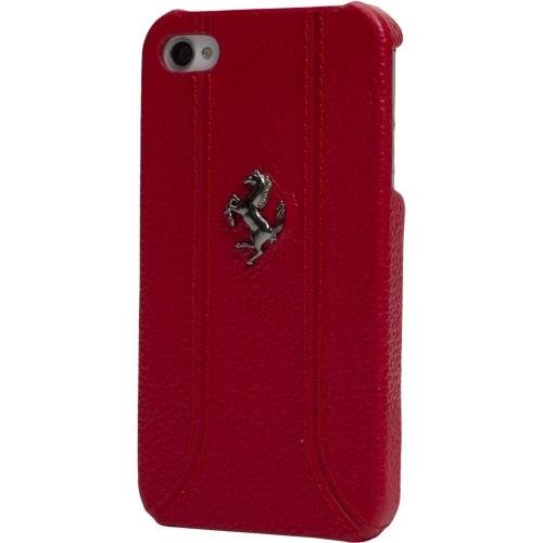 Best Price CG Mobile FEFFHCP5RE Ferrari Original Cell Phone Case for iPhone 5 - 1 Pack - Retail Packaging - Red