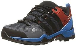 adidas Outdoor Boys\' AX2 Climaproof Hiking Boot, Onix/Black/Craft Chili, 2.5 M US Little Kid