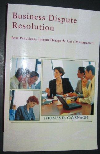BUSINESS DISPUTE RESOLUTION >C