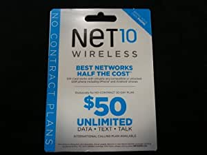 NET10 AT&T Compatible SIM Card