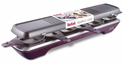Tefal re520012 simply line raclette 6 coupelles grills et planchas - Raclette tefal simply line ...