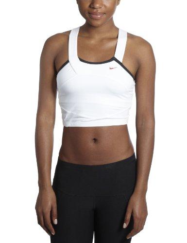 Nike Women's Studio Airborne Top - White, Size