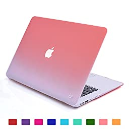 Lightning Power - Fade to White Matte Carrying Hard Shell Case for Macbook Air 13.3\