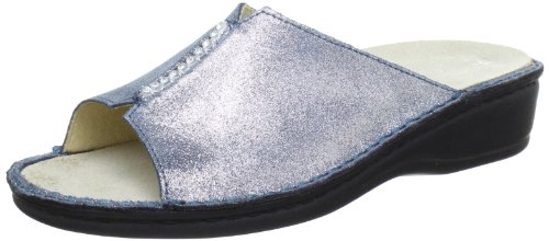 Hans Herrmann Collection Siena Clogs And Mules Women blue Blau/avio Size: 6.5 (40 EU)