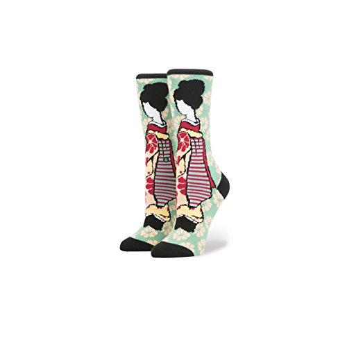 Stance-Rihanna-Geisha-Socks-Green