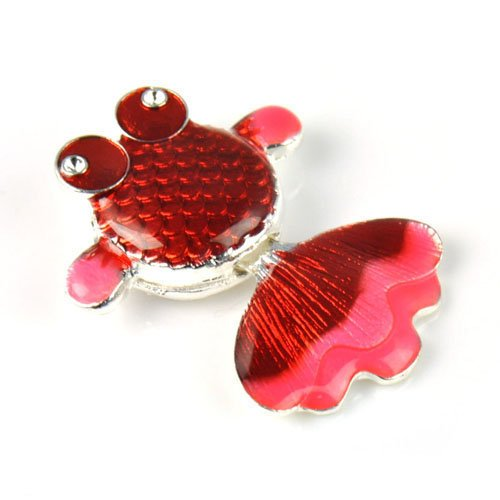 4pc/lot,tinny Goldfish Charm for Necklace and Bracelet,pt-712 (A)