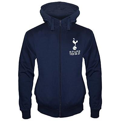 Tottenham Hotspur FC Official Soccer Gift Mens Fleece Zip Hoody