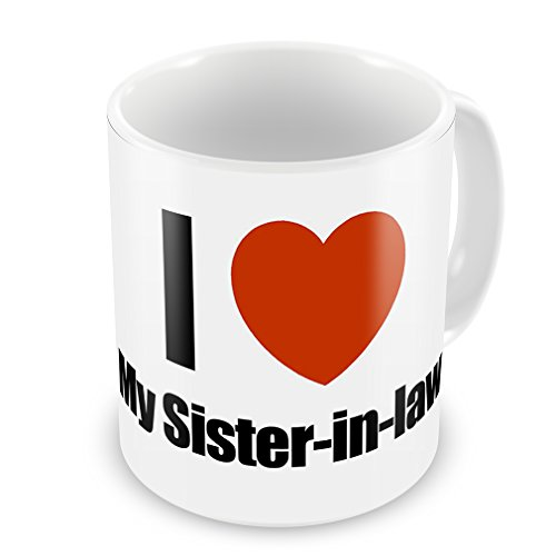 Coffee Mug I Love My Sister-In-Law - Neonblond