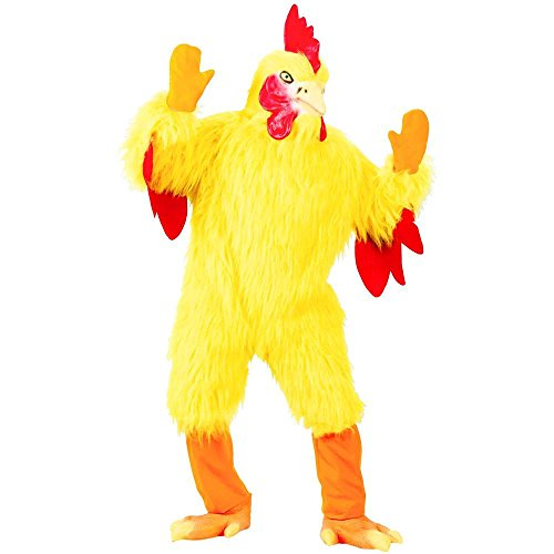 Funny Chicken Suit Adult Costume - One Size