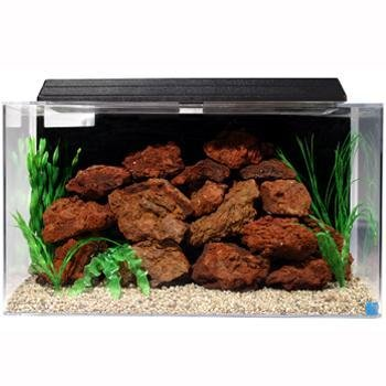 Corner fish tank seaclear 50 gallon system ii aquariums for Cheap 20 gallon fish tank