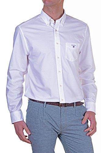 Gant - Camicia Uomo Regular Bianco L