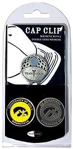 Buy NCAA Iowa Hawkeyes 2 Marker Golf Cap Clip by Team Golf