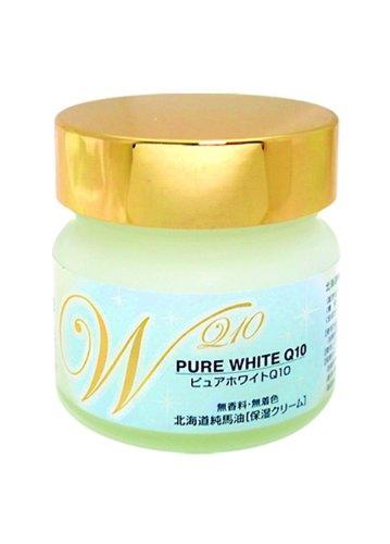 北海道純馬油本舗 ピュアホワイト ピュアホースオイル100% 保湿クリーム 無香料無着色 100g 1個セット