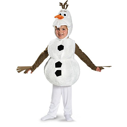 Disney Frozen Olaf Deluxe Toddler Costume Size M (3T-4T)
