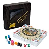 NEW MEXICAN TRAIN BIG NUMBER NO DOTS PRO Db 12 DOMINOES