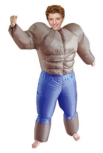 Ace Halloween Adult Inflatable Suit Body Builder Costumes