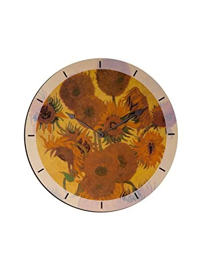 Artopweb Orologio Da Muro Van Gogh Sunflowers