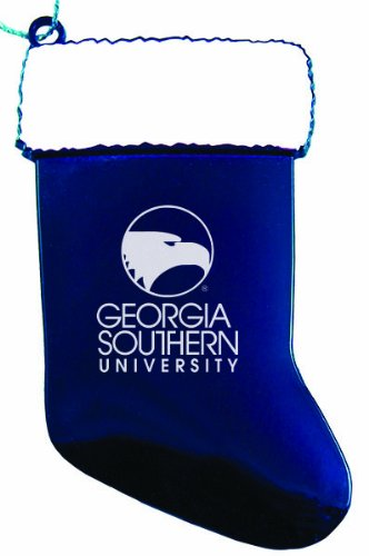 Georgia Southern University - Chirstmas Holiday Stocking Ornament - Blue at Amazon.com