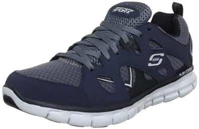 Skechers SynergyGridiron, Herren Sneakers, Blau (NVGY), 39 EU