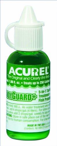Imagen de Acurel LLC guardaespaldas Plus 25 ml, acuario y estanque de tratamiento, trata 250 galones de agua