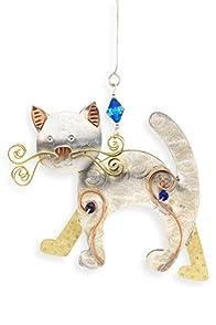 Pilgrim Imports Nightime Kitty Fair Trade Ornament