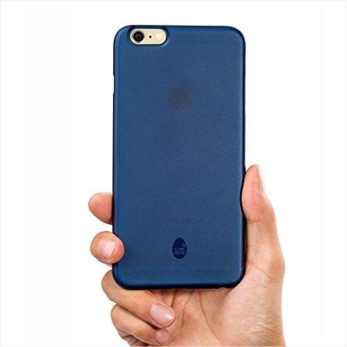 Custodia-iphone-6s-plus-Ultrasottile-Ultra-Leggera-Copertura-Protettiva-blu-scuro-trasparente-iphone6s-plus-case-blue-color-slim-and-thin