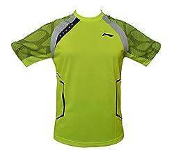 Li-Ning Badminton T-Shirt (Fluorescent Lime)