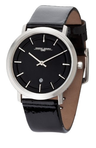 Jorg Gray Ladies Quartz Watch JG2700-14 with Calf Patent Leather Strap